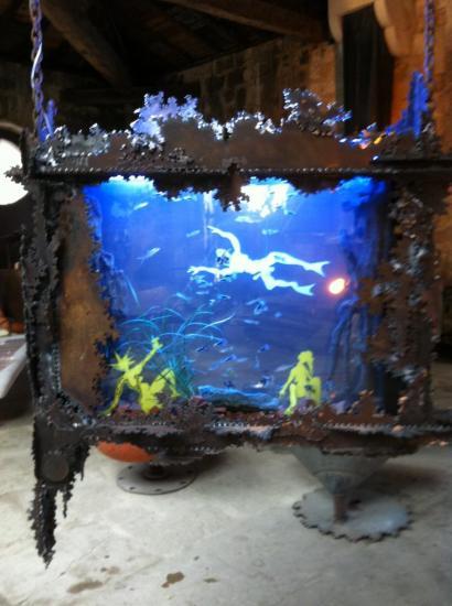 scène d'aquarium