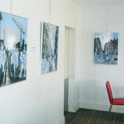 Exposition hôtel Pullman  Bordeaux. Eté 2011.
