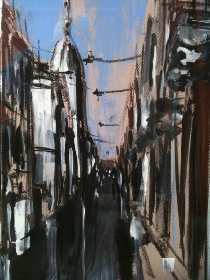 Rue Porte-Dijeaux 1. Bordeaux. Détail.