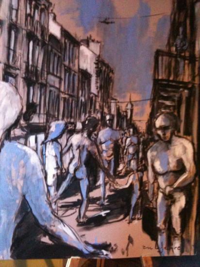 Rue Porte-Dijeaux 2. Bordeaux.