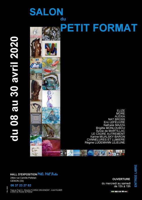 Affiche salon du petit format 2020