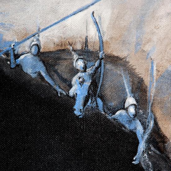 La grande huitre cosmique/ Détail : les chasseurs d'étoiles/photo Alain Dussarat