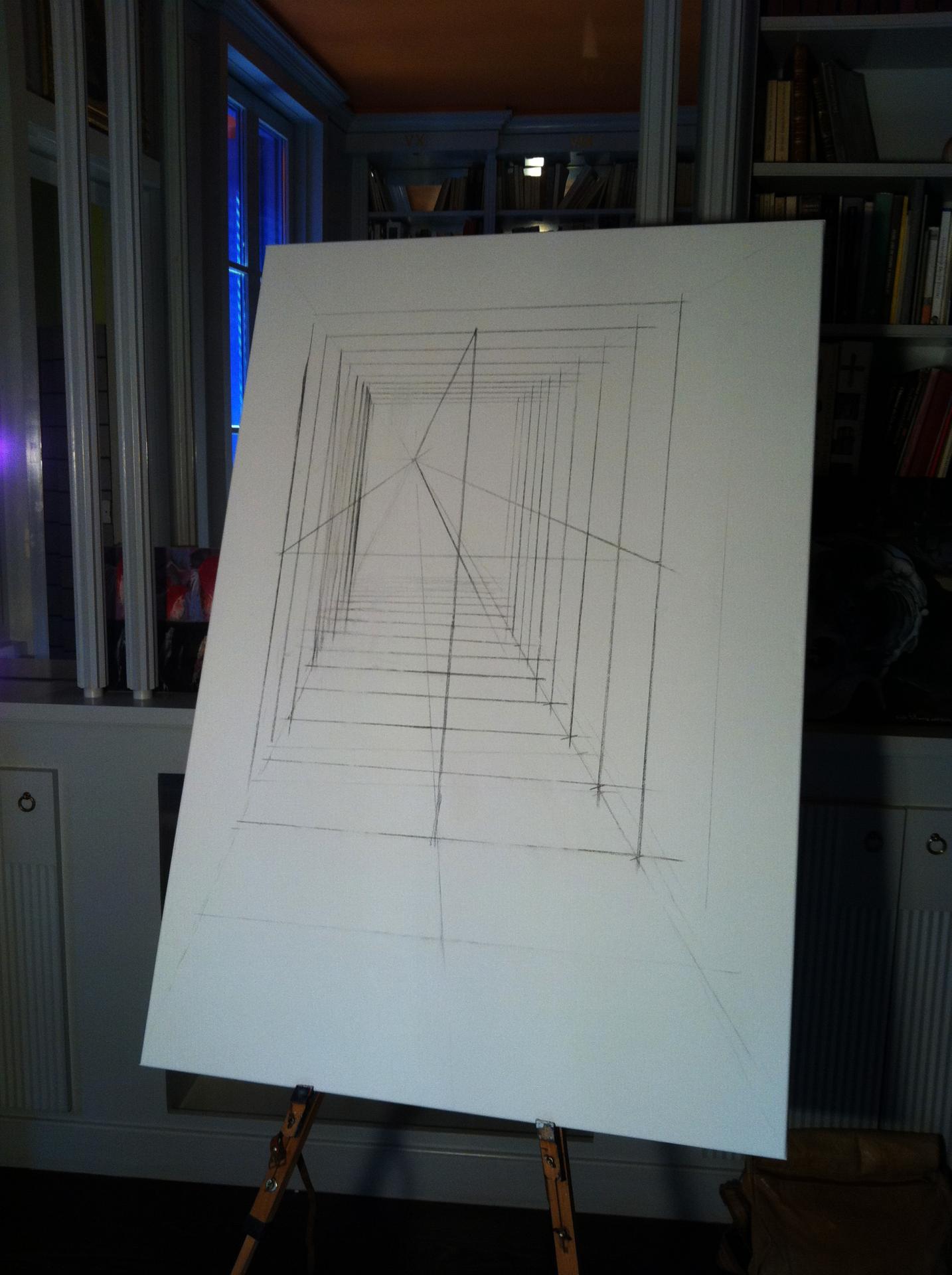 Fabrication de la cathédrale espinographique (1)