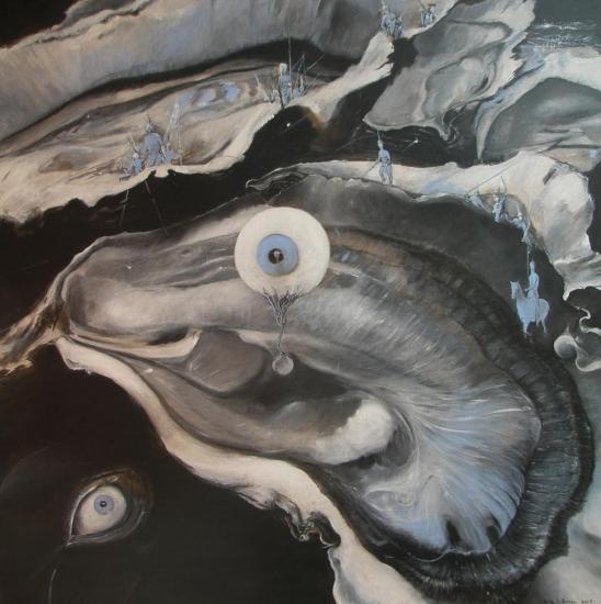 la grande huitre cosmique ( série
