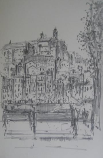 Porto/Depuis Gaïa/2012/Crayon 2B/format 13X21