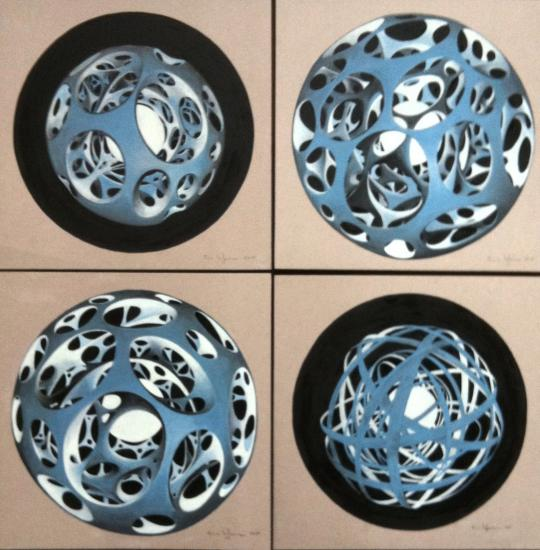 Quadriptyque des spheres copie
